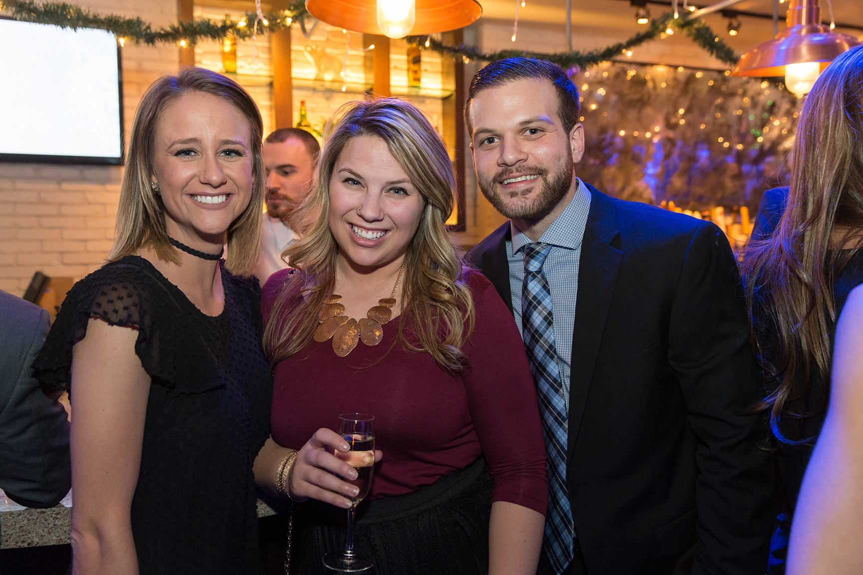 Timberwolves and Lynx Holiday Party