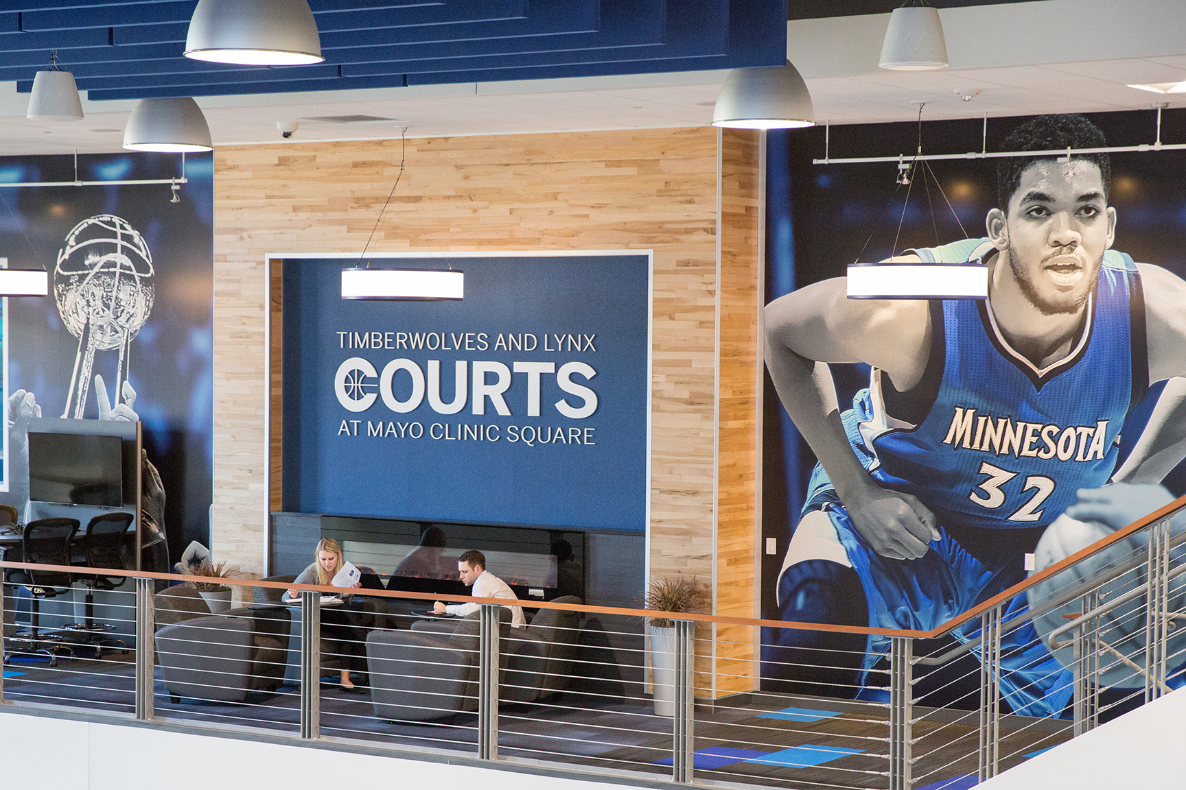 Timberwolves and Lynx Office Space