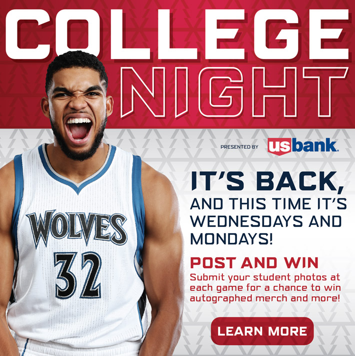 Wolves College Night Offer