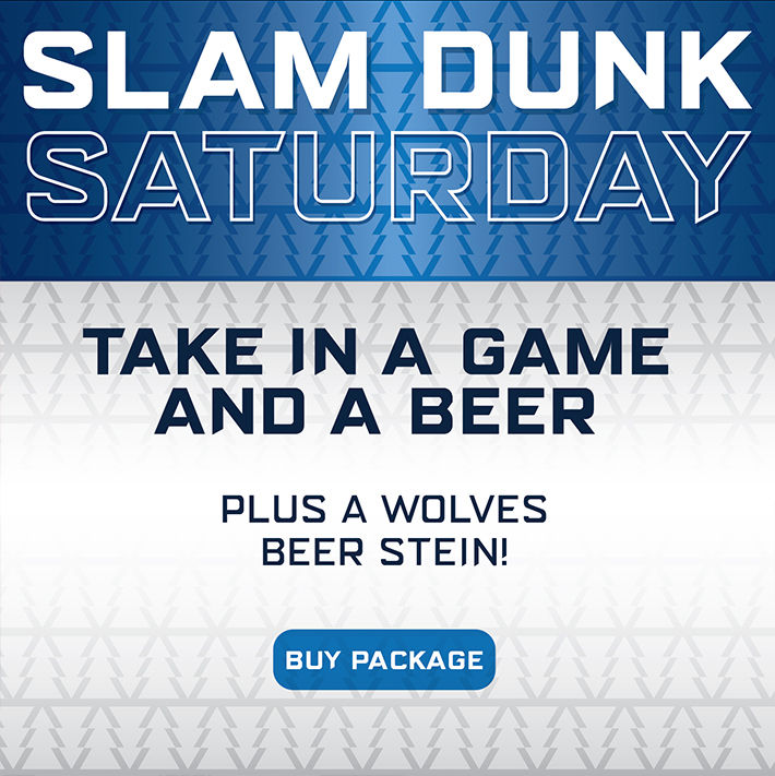 Wolves Slam Dunk Saturday Offer