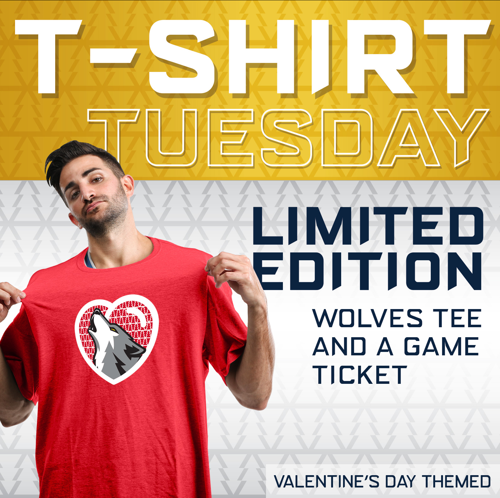 Wolves T-Shirt Tuesday