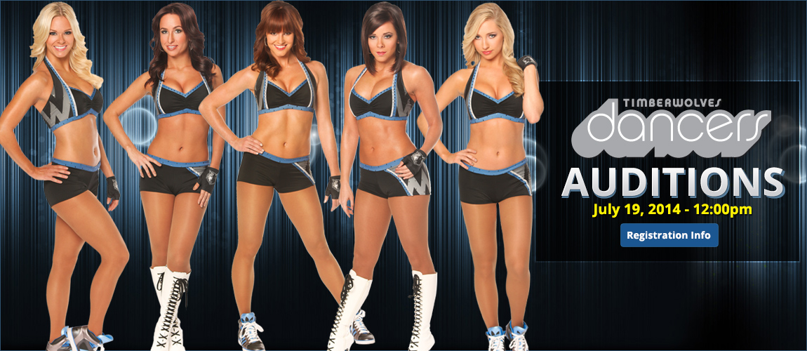 Timberwolves Dancers Auditions