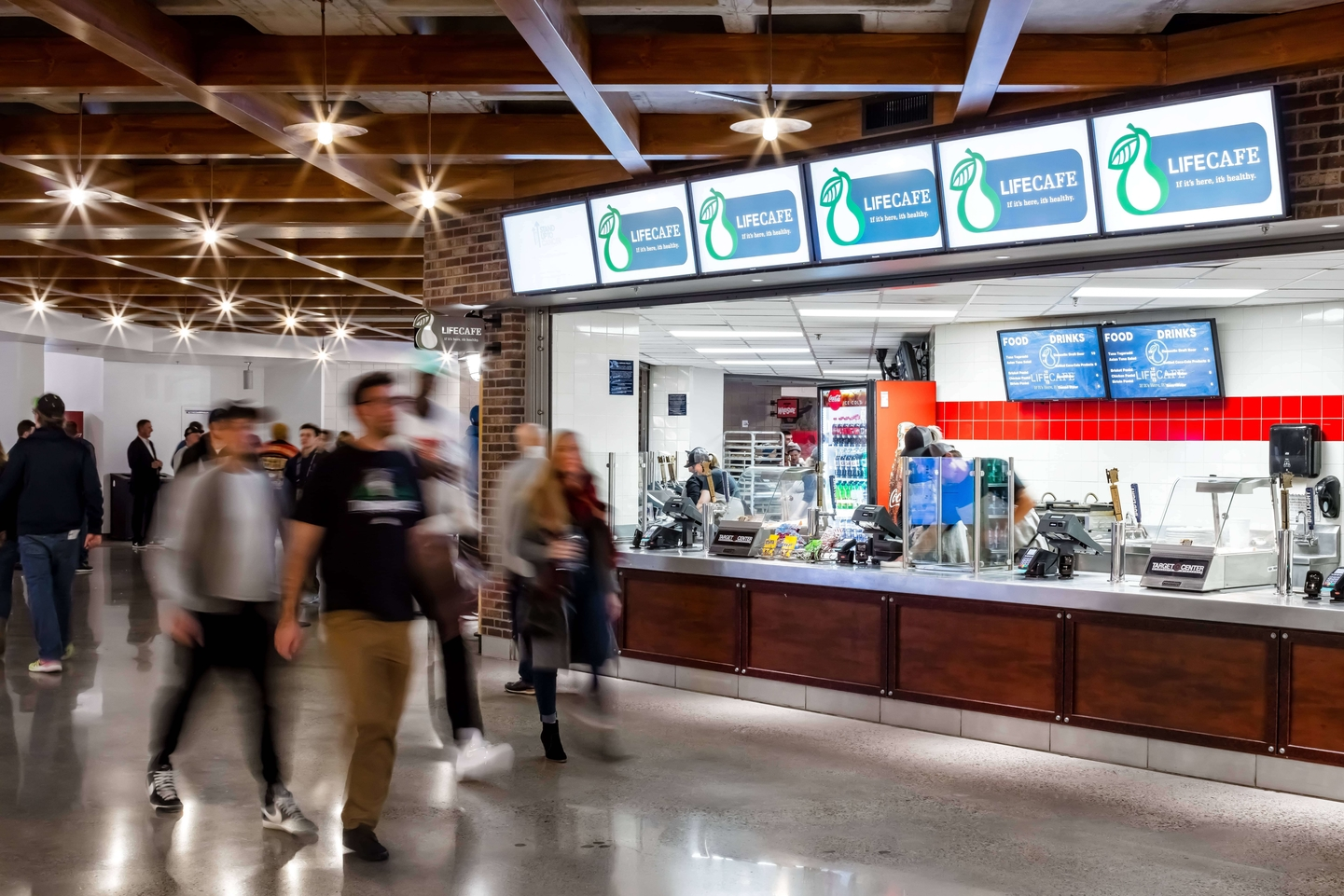 Target Center Concessions