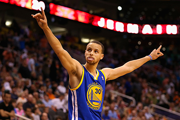 Finally healthy enough to play a whole season stephen curry raised