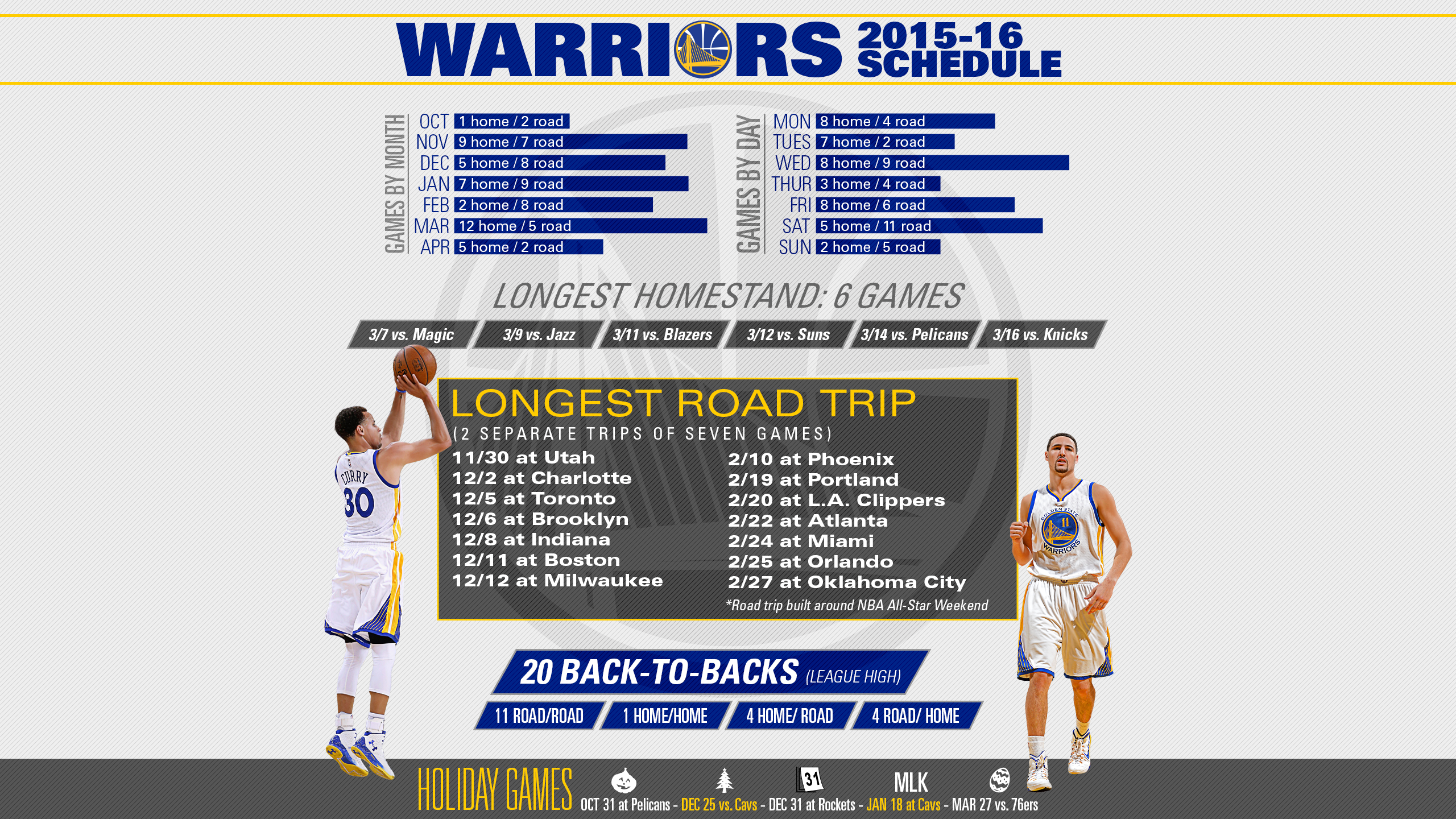 2019-20 Golden State Warriors Schedule | ESPN