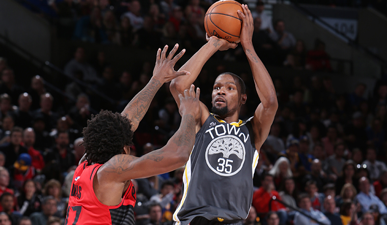Kevin Durant returning to Seattle for Warriors-Kings game, sources say