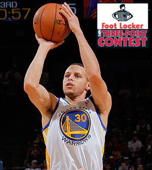 Stephen Curry Selected to Participate in Foot Locker Three-Point Contest 96ef308b0