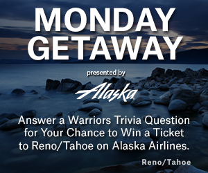 Monday Getaway, Presented by Alaska Airlines