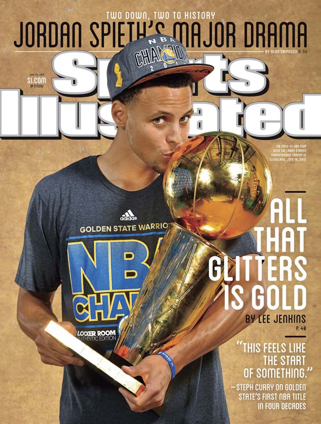 Warriors Guard Stephen Curry Featured On Regional Cover Of Sports Illustrated