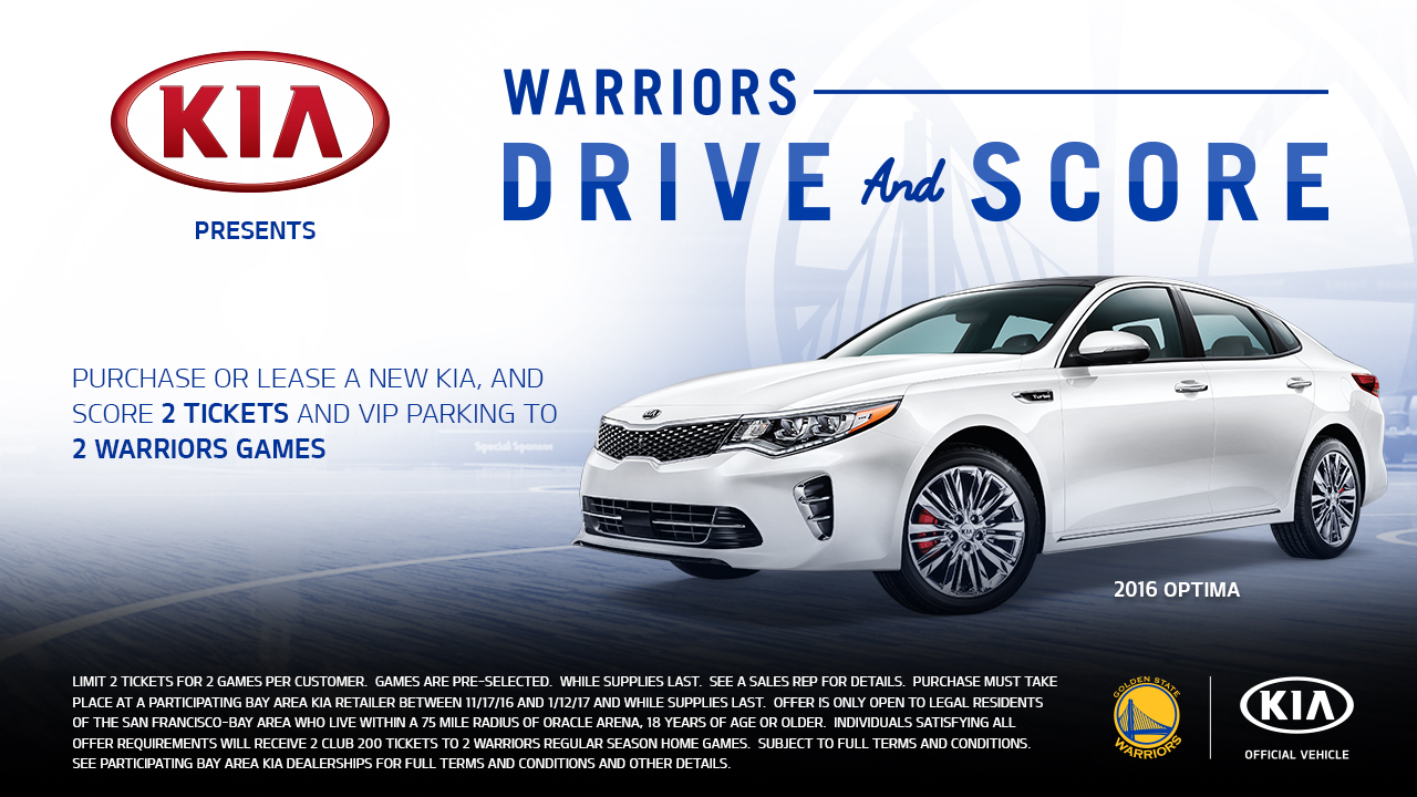 Warriors Drive And Score Presented By Kia Golden State
