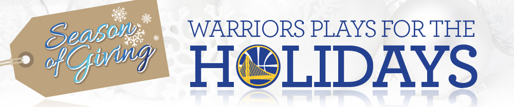 Warriors Plays for the Holidays