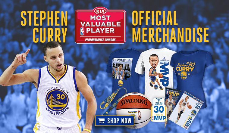 c0b9110ea0d Golden State Warriors guard Stephen Curry is the winner of the Maurice  Podoloff Trophy as the 2014-15 Kia NBA Most Valuable Player.