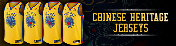 low priced a8742 b25be Warriors to Wear Chinese Heritage Uniforms for Select Games ...