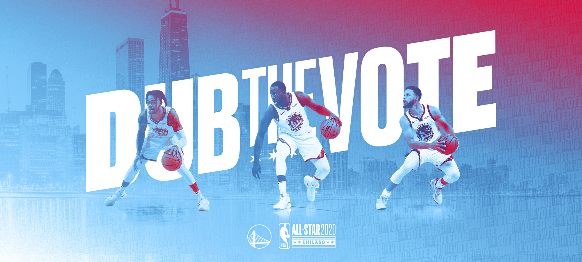 Dub The Vote 2020 Nba All Star Game Golden State Warriors