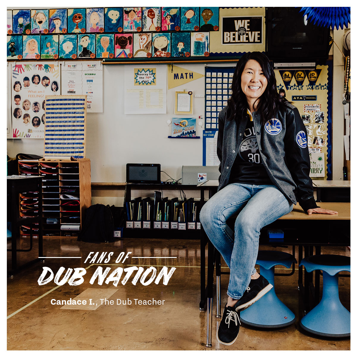 Fans of Dub Nation: Candace I  | Golden State Warriors