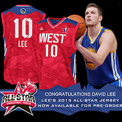 First Team Toyota >> David Lee Named To NBA Western Conference All-Star Team ...