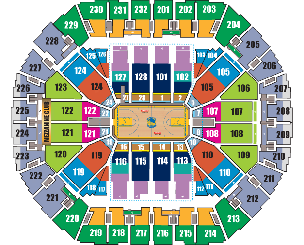 golden state warriors tickets oracle