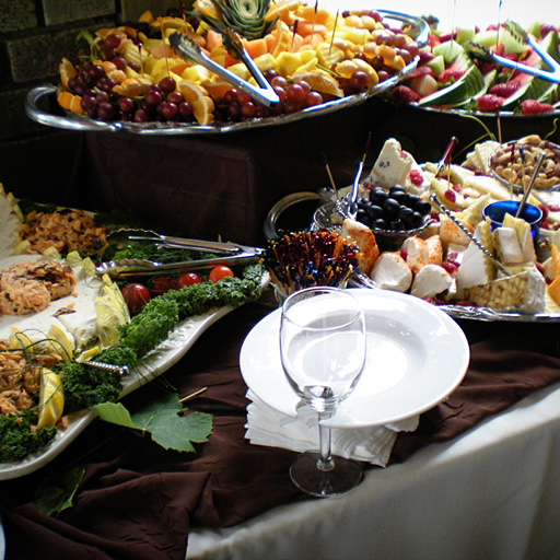 Catering and hospitality food and drink