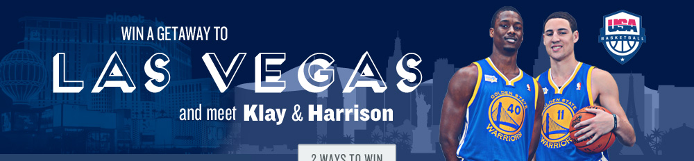 Win a Getaway to Las Vegas and Meet Klay and Harrison