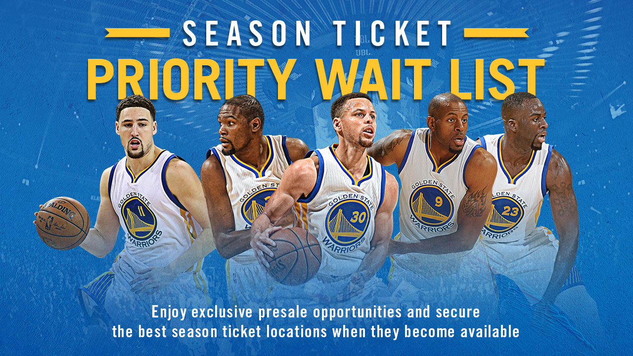 season tickets golden state warriors