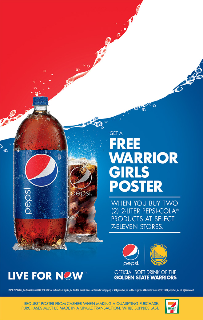 Free Warrior Girls Poster At 7 Eleven The Official Site