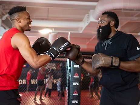 Rockets x UFC Workouts