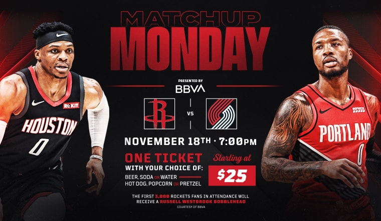 Join us for Matchup Monday presented by BBVA