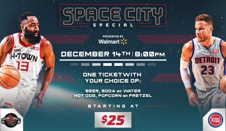 Join us this Saturday for the Space City Special!