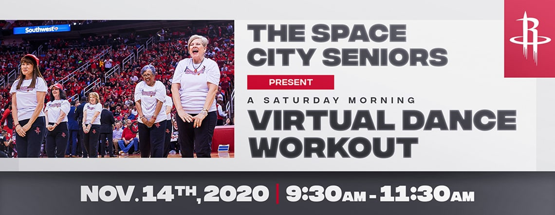 Space City Seniors Virtual Dance Workout