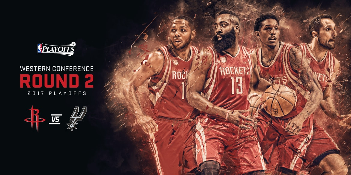 Rockets vs. Spurs Western Conference Semifinals Schedule