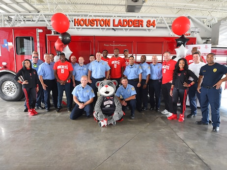 Houston Rockets 6th Annual 9/11 Day Of Service