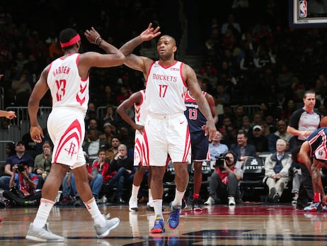 Photo Gallery: Rockets at Wizards 11-26-18