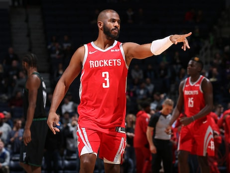 Photo Gallery: Rockets at T-Wolves 12/3/18