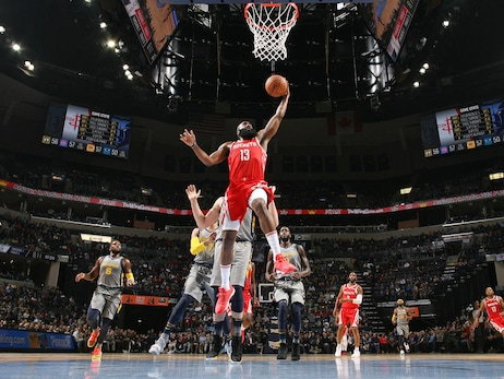 Photo Gallery: Rockets at Grizzlies 12/15/18