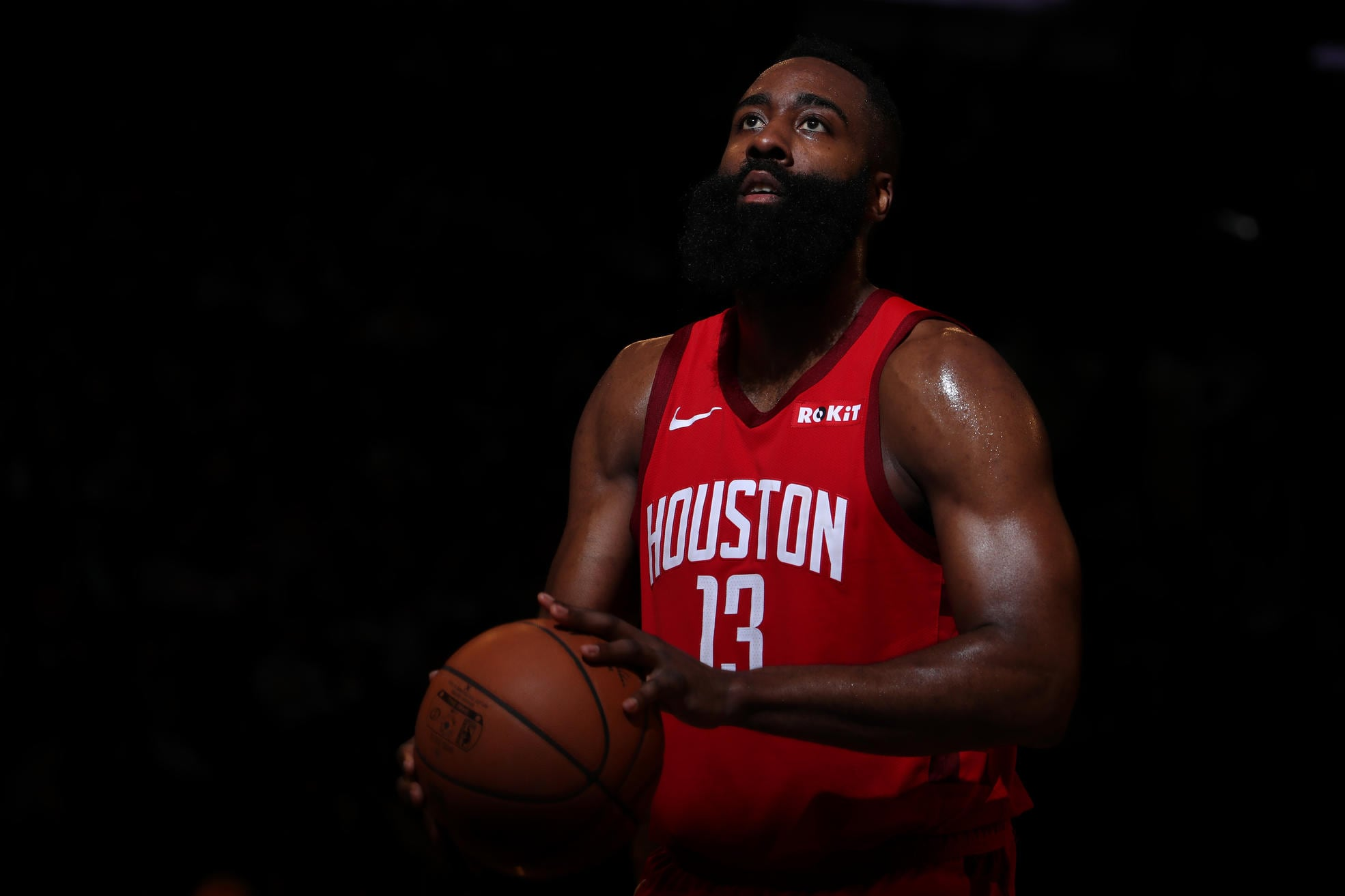 60f8e366b25b James Harden named Western Conference Player of the Month for January