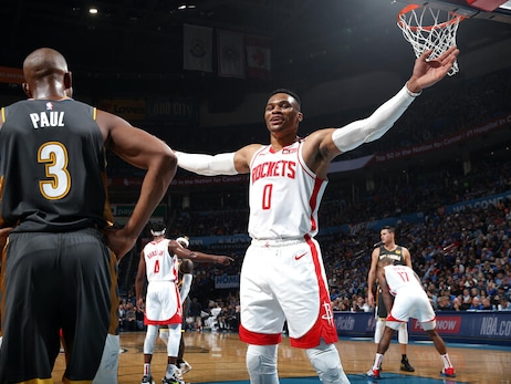Photo Gallery: Rockets at OKC 1-9-20