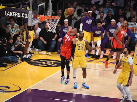Photo Gallery: Rockets Vs. Lakers 02/07/2020