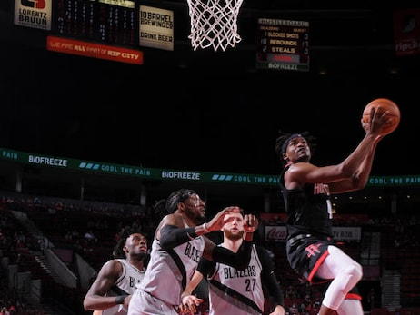 Photo Gallery: Rockets at Blazers 5-10-21