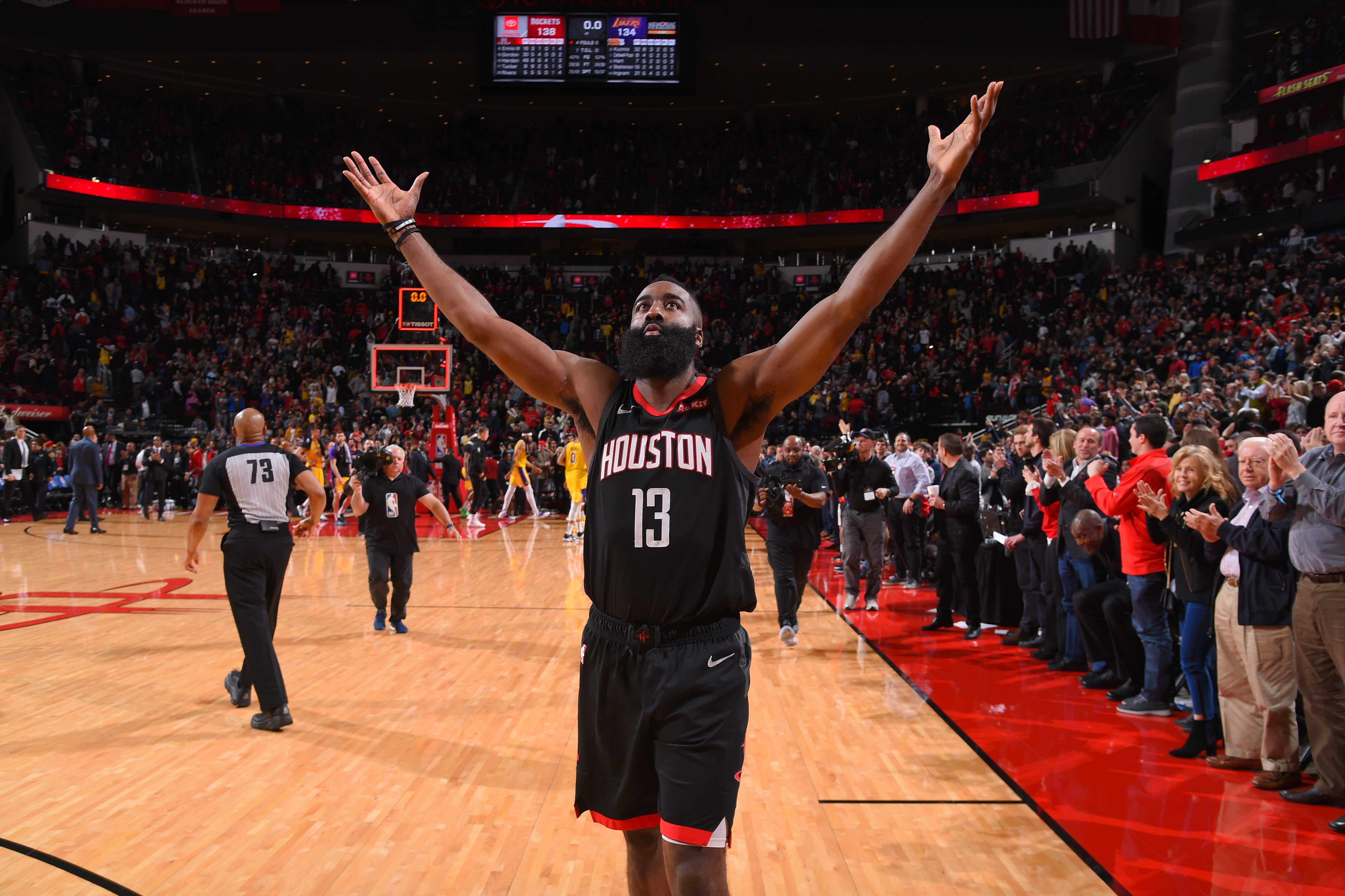 937e32a6fea7 James Harden Named Western Conference Player of the Week