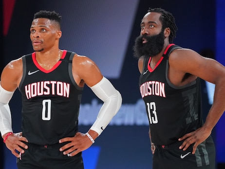 Rockets James Harden and Russell Westbrook Named to All-NBA Teams