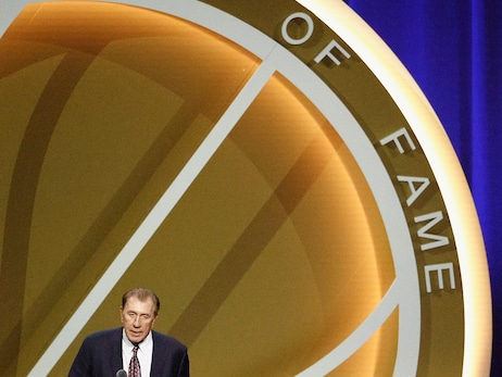 Rudy Tomjanovich Hall of Fame Enshrinement