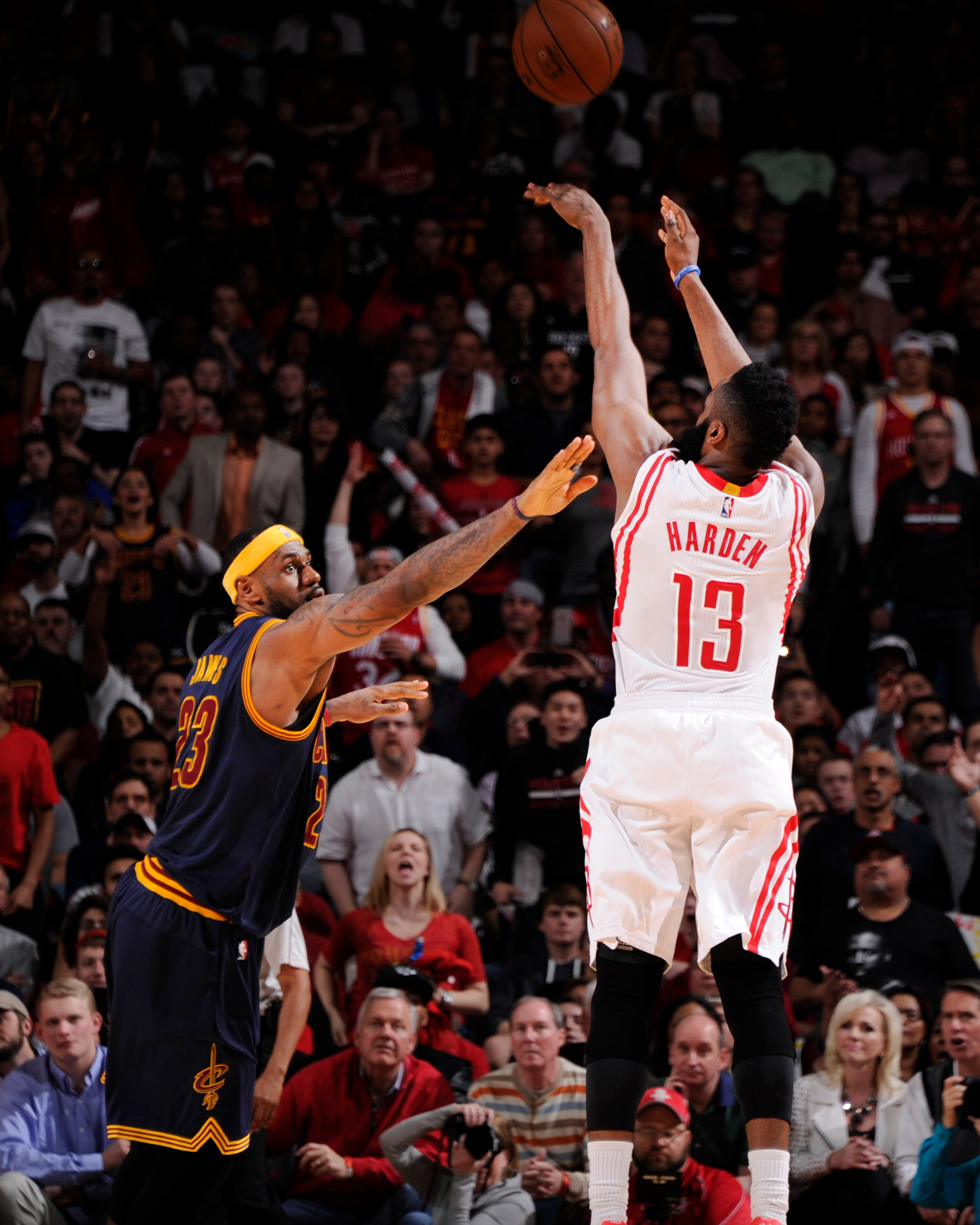 James Harden Rockets: Photos: Rockets Vs. Cavaliers 03/01/2015