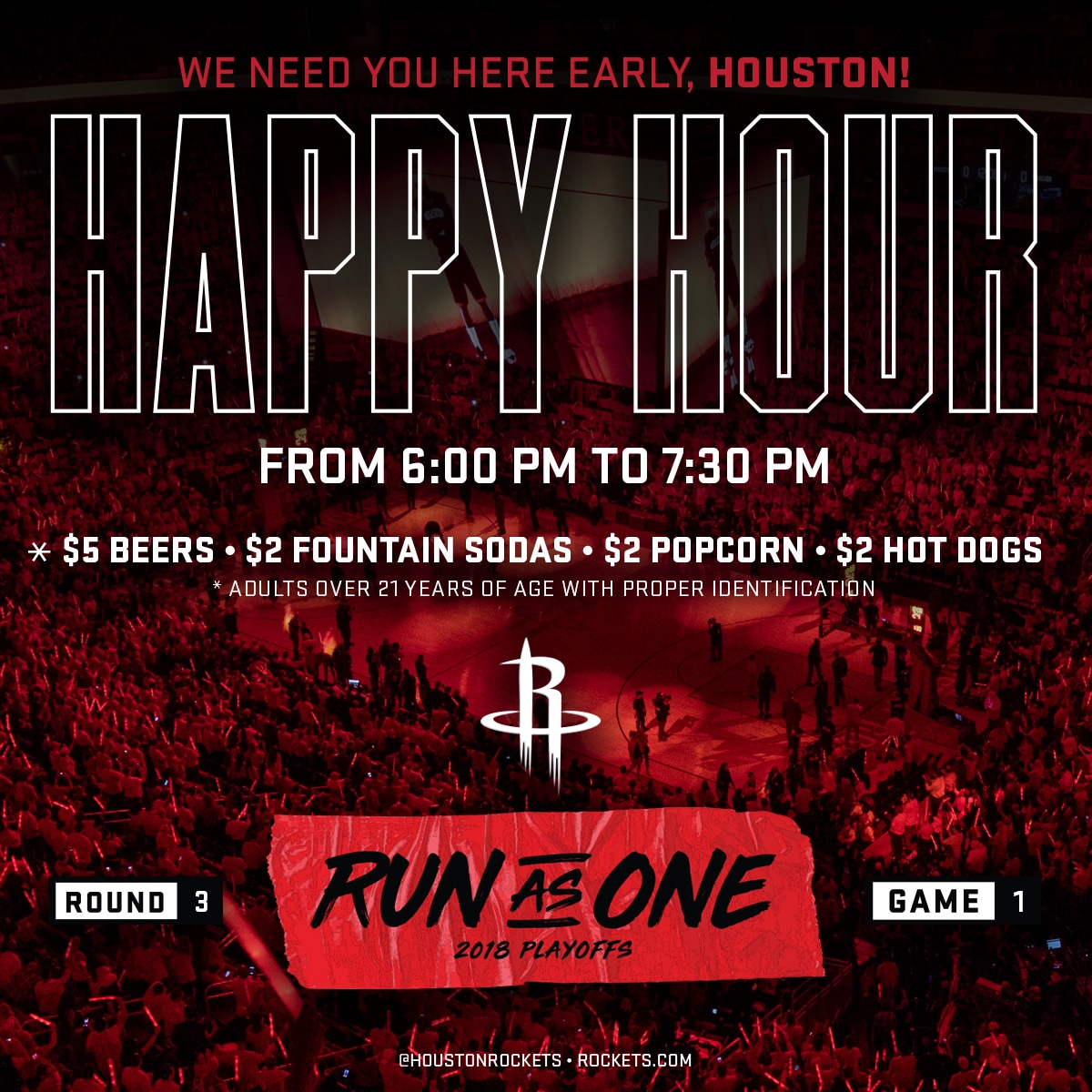 Happy Hour is Back for Western Conference Finals Game 1
