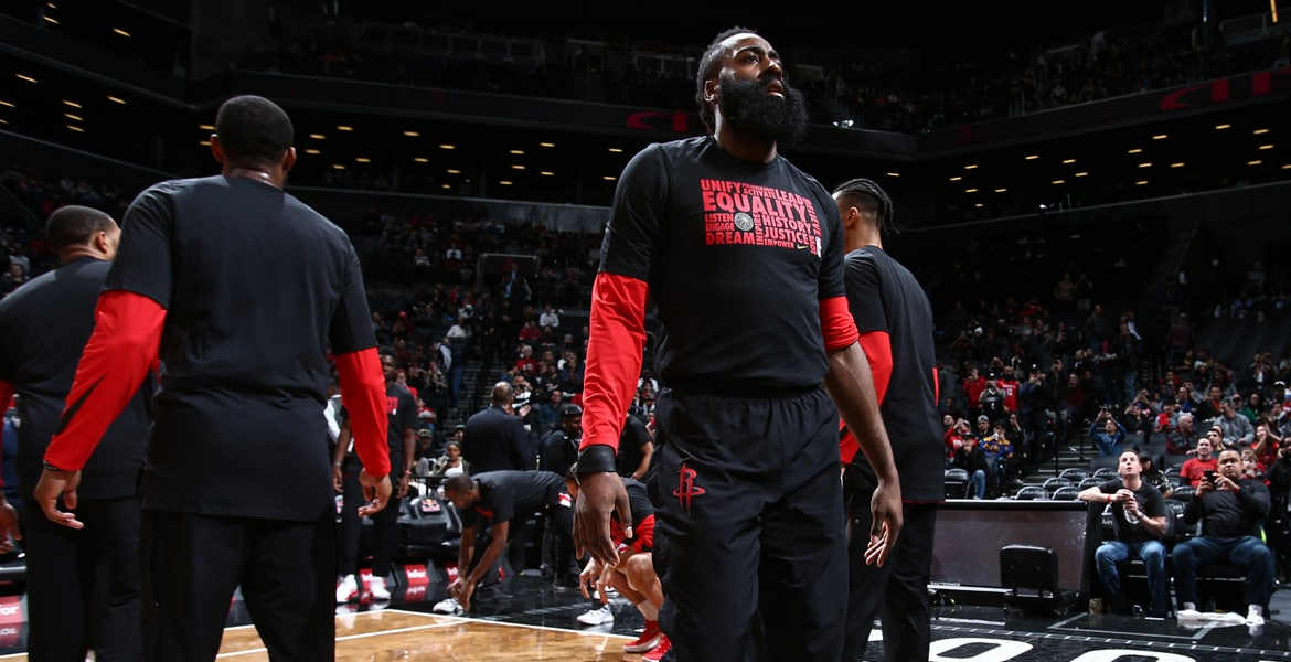Harden Named NBA Western Conference Player of the Week