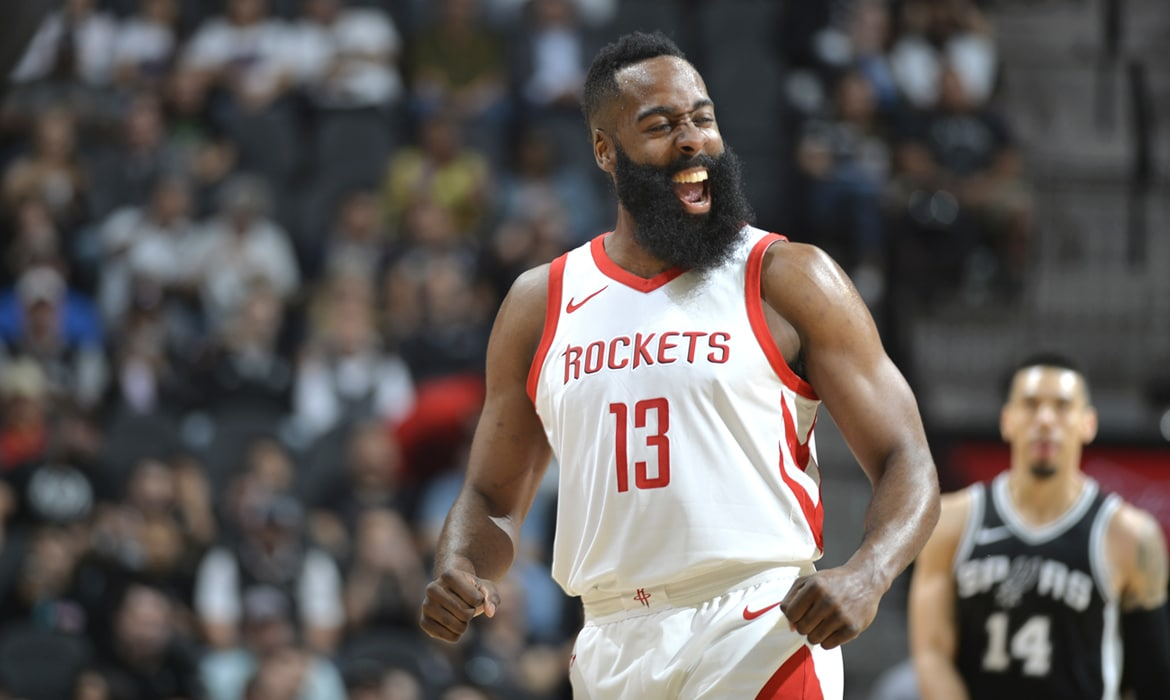 James Harden Named NBA Western Conference Player of the Week