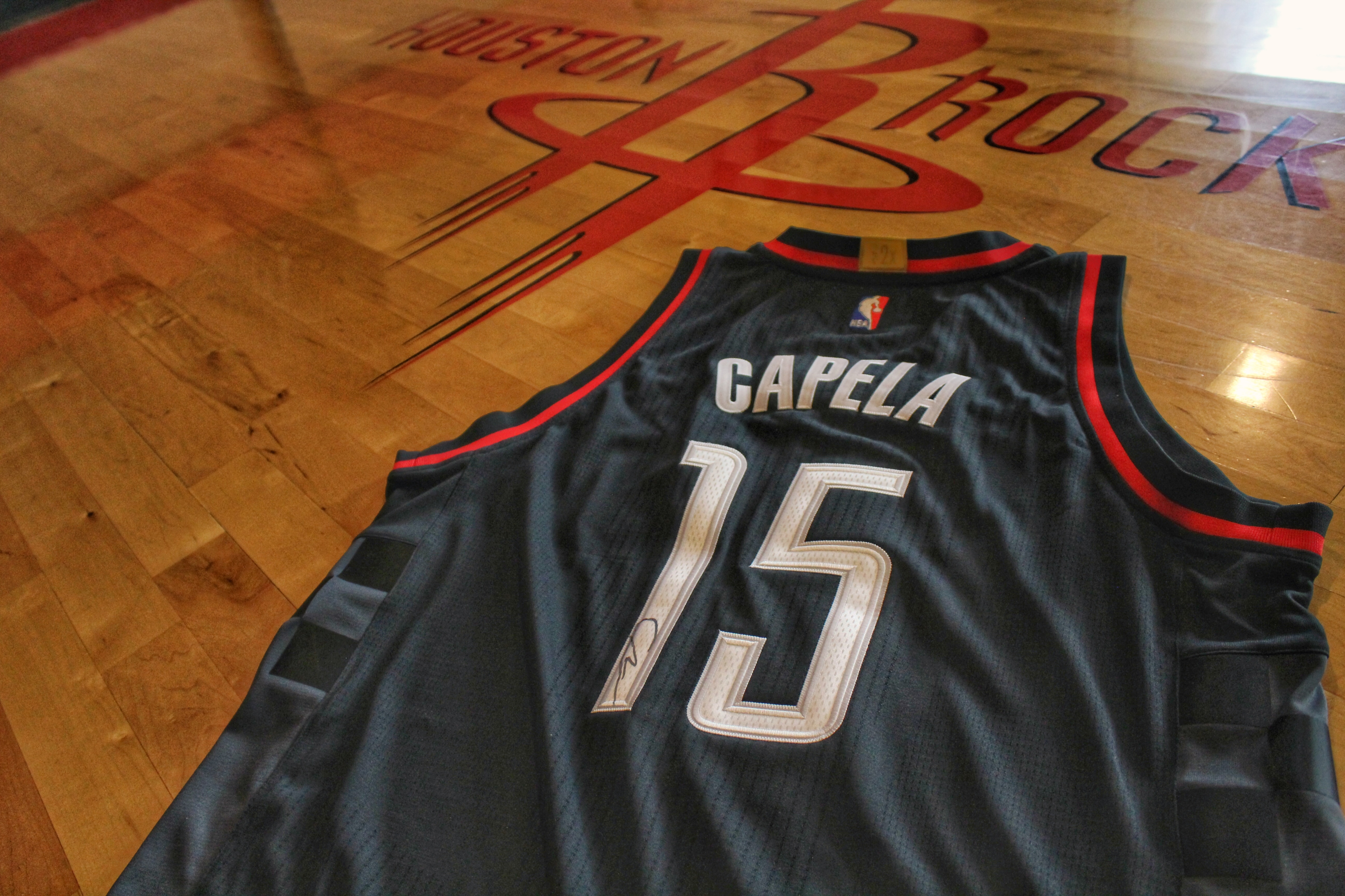 Win an Autographed Capela Jersey