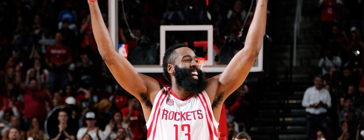 Rockets James Harden Named Western Conference Player of the Month