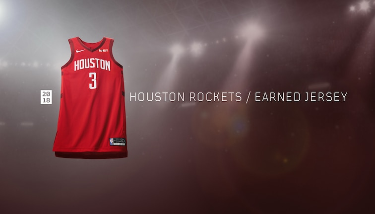 quality design 3af33 bd3d7 Introducing the Rockets Earned Edition Uniforms | Houston ...