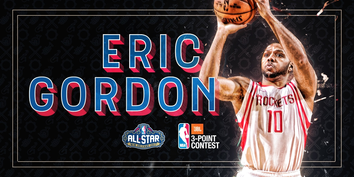 Eric Gordon to Compete in Three-Point Contest during NBA All-Star Weekend