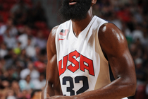 Harden at Team USA Training Camp